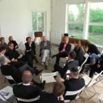 HCU Jahresausstellung 2013 - Diskussionsrunde in der UdN