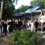 HCU Jahresausstellung 2013 - im Garten