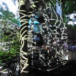 HCU Jahresausstellung 2013 - Lichtinstallation weiß