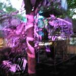 HCU Jahresausstellung 2013 - Lichtinstallation violett