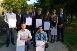 Auslober und Gewinner des Concrete Design Competition 2012/13