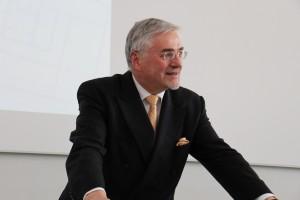 Überzeugte mit profundem Theoriewissen: Professor Jürgen Bruns-Berentelg